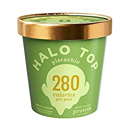 Halo Top Creamery, Pistachio, 16 oz (Frozen)