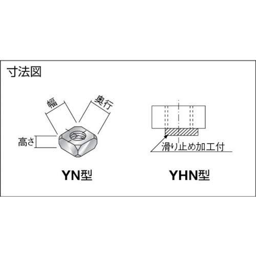 ヤマト ヤマト(株) 4角ナット YN044