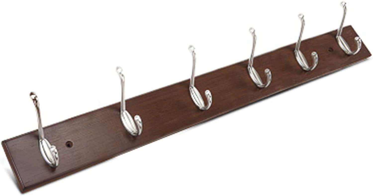 Coat Rack, Wall Hanging Clothes Shelf Home Wood Home Living Room Bedroom Multifunctional Simple Creative Corner Coat Rack 35.6  7.5cm Easy to Install (color    1, Size   74  7.5cm)