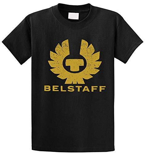 HuXiHuXiHu Camisetas y Tops Hombre Polos y Camisas, Fashion Cotton T-Shirt BELSTAFF Men