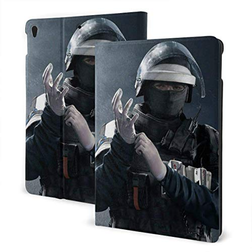Case For iPad iPad Case Ipad cover Game Theme Rainbow Six Siege Smart Stand Back Cover Anti-Scratch Auto Wake/Sleep Protective Case