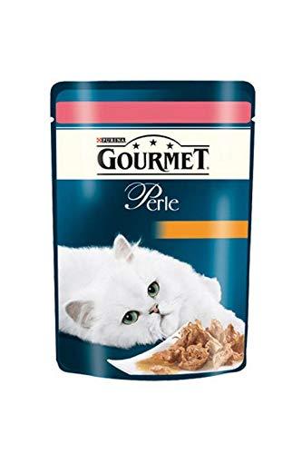 Gourmet Perle Cat Lachs 85g Inhalt: 24 BT