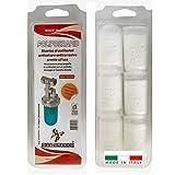 Ricariche polifosfati per caldaie 6 pezzi anticalcare anticorrosivo pronte all'uso adatto a tutti i dosatori polifosfato in polvere per dosatori