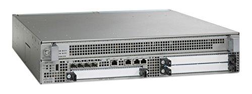 Cisco ASR 1002 Ethernet Negro, Gris - Router (SIP-SPA, SNMPv3, Negro, Gris, 5-40 °C, 2U, 5-90%)