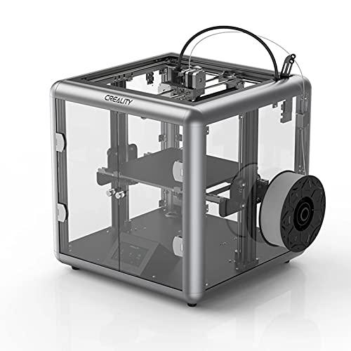 AWSAD CREALITY Sermoon D1 3D Máquina Impresora, 280x260x310mm Tamaño De Impresión Silencioso, Plataforma Vidrio Carborundo, para Arquitectura, Mobiliario, Educación (Color : Sermoon D1)