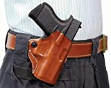 Gunhide, 019, Mini Scabbard, Belt Holster, Fits SIG SAUER P365, Right Hand, Tan Leather