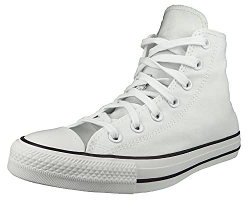 Converse Damen High Sneaker Chuck Taylor All Star Mono Metal HI 570287C Weiß, Groesse:39 EU