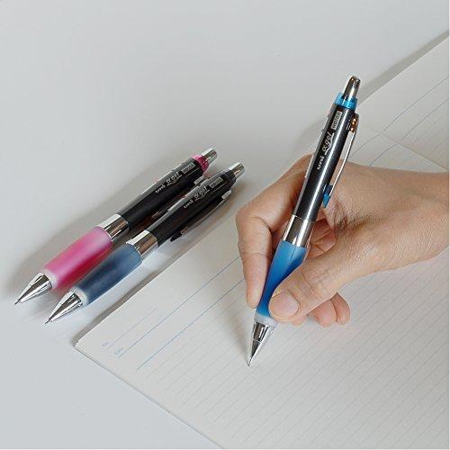 三菱鉛筆シャープペンユニアルファゲルややかため0.5ブラックM5618GG1P.24