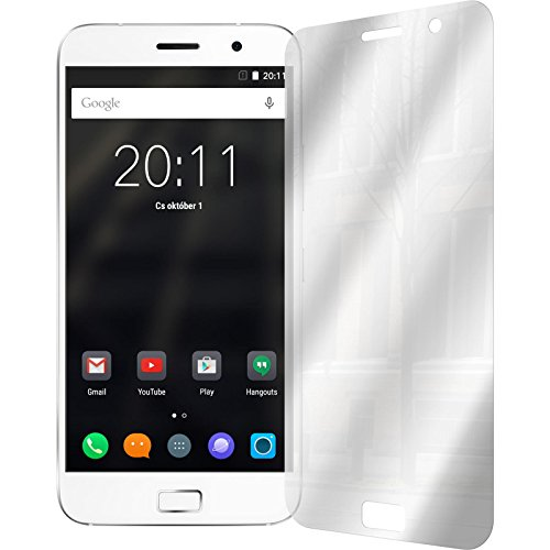 PhoneNatic 2er-Pack Bildschirmschutzfolien verspiegelt kompatibel mit Lenovo ZUK Z1