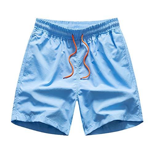 Pantalones cortos de playa para hombre, impermeables, de secado rápido, para natación, tabla de surf con forro de malla