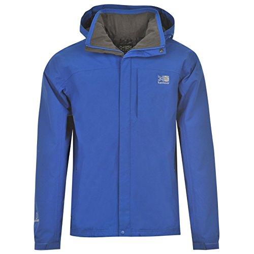 Karrimor Herren Urban Weathertite Wasserdicht Verstaubare Jacke Mit Kapuze Blau Large