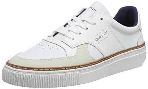 GANT FOOTWEAR DENVER, Herren Brogues, Weiß (bright white G290), 42 EU (8 UK)