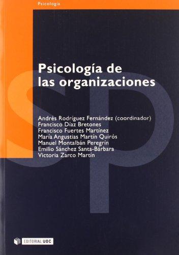 PSICOLOGIA DE LAS ORGANIZACIONES: 19 (Psicologia / Psychology)