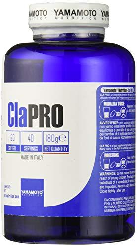 Yamamoto Nutrition Cla PRO Clarinol© Quality integratore che apporta 2,4 g di Acido Linoleico Coniugato 120 capsule