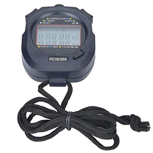 VGEBY PC3830A ABS Sports Running Cronómetro electrónico Track And Field Cronómetro con cuenta atrás ()