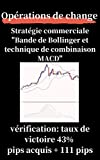 Opérations de change Stratégie commerciale 'Bande de Bollinger et technique de combinaison MACD' Résultat de la vérification: taux de victoire 42,9% pips acquis + 111 pips (French Edition)