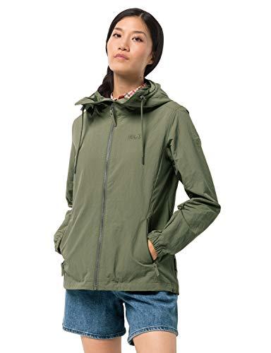 Jack Wolfskin Damen Lakeside Jacket W Jacke, light moss, M