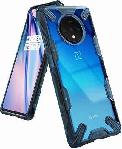 Ringke Fusion-X Diseñado para Funda OnePlus 7T, Transparente al Dorso Carcasa OnePlus 7T (6.55