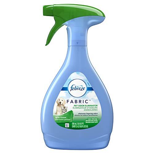 Febreze Fabric Refresher - Pet Odor Eliminator 16.9 Ounce Pack of 3