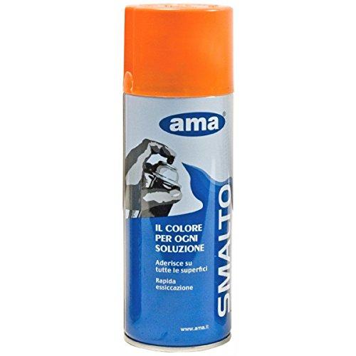 Smalto colore arancio per trattori Fiat spray di Ama 400 ml