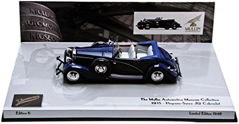 Hispano-Suiza J12 Cabriolet (Blau) 1935