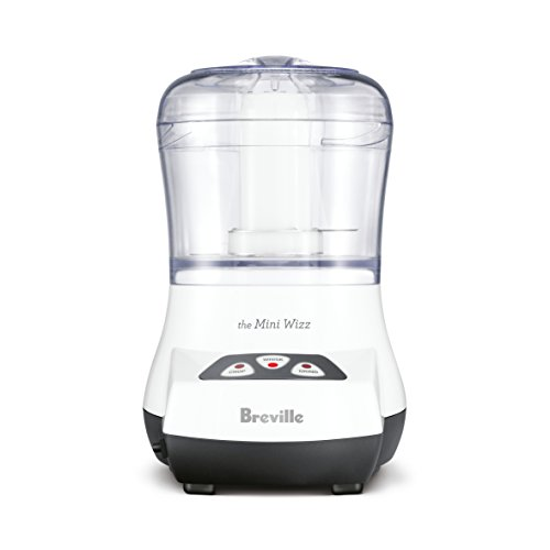Breville Mini Wizz Food Processor, White BFP100WHT