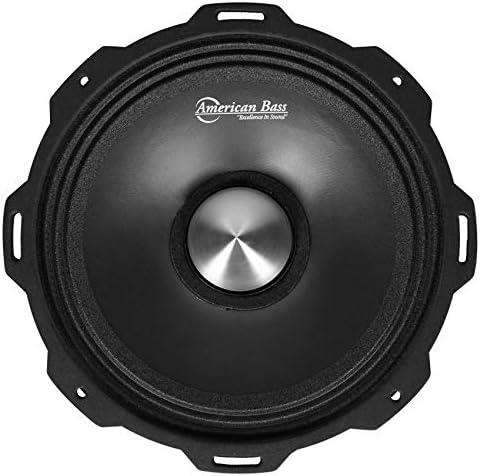 American Bass USA GF 8 L MR Godfather Series 8 inch Midrange Speaker product image