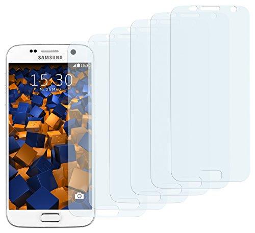 mumbi Schutzfolie kompatibel mit Samsung Galaxy S7 Folie klar, Bildschirmschutzfolie (6x)