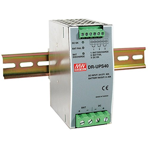 Mean well DR-UPS40dr-ups serie 40A DC UPS memoria riel DIN fuente de alimentación–1tema (S)