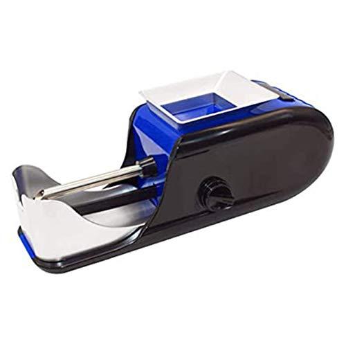 MISS YOU Fabricante de Rodillos automático de Tabaco de Cigarrillo eléctrico, Mini máquina, Vienen con Enchufe, Padre de los Hombres (Color : Blue)