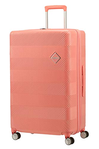 American Tourister Flylife Bagaglio a mano L (77cm - 127.5l), Rosa (CoraL, Pink)