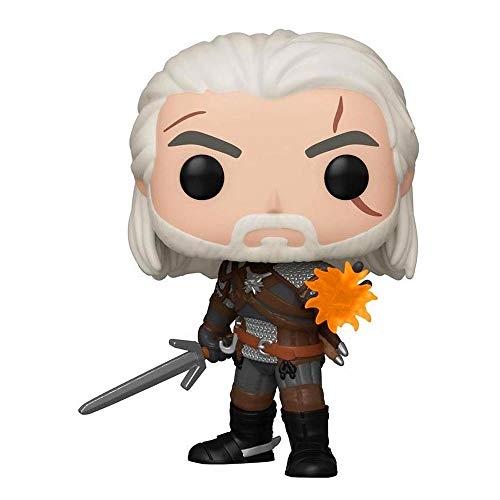 Funko Pop! Games: The Witcher 3: Wild Hunt - Geralt Glow in The Dark GameStop Exclusive Vinyl Figurine