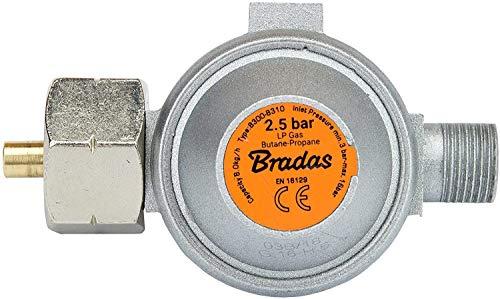 Gasbrenner Brenner Dachbrenner Mitteldruckregler Abflammgerät Gaslötgerät Druckregler Regler (RED3 Druckregler 2,5 bar)