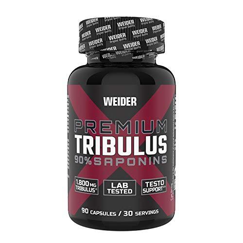 Weider Premium Tribulus, enriquecido con Zinc para ayudar a los niveles de testosterona