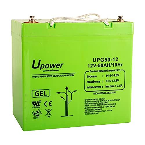 Bateria Plomo Gel 50Ah 12V