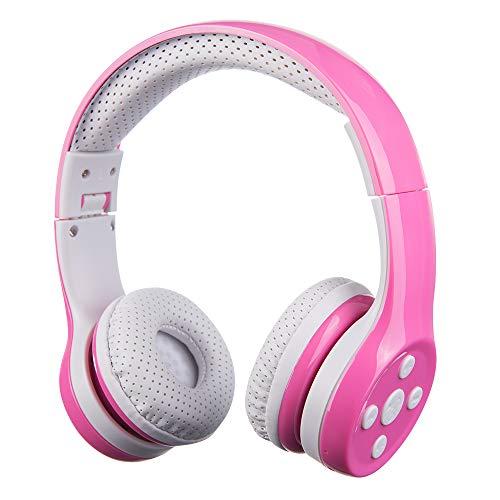 Auriculares Bluetooth para niños, Hisonic Auriculares para niños con volumen...
