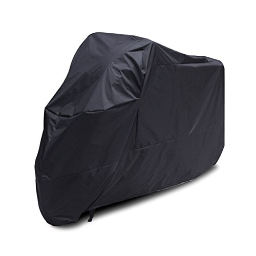 Preisvergleich Produktbild LEORX Jede Jahreszeit Motorrad Abdeckung wasserdicht staubdicht Schutzhülle (schwarz