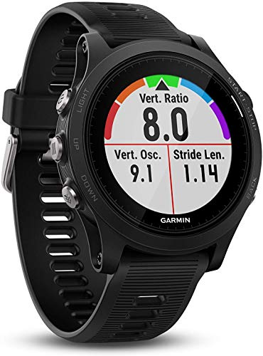 Garmin Forerunner 935 Sleek Sport Watch Running GPS Unit -Black (Renewed)