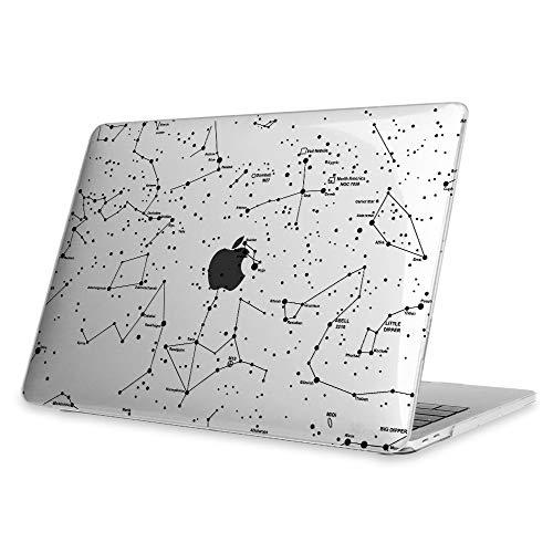 Fintie Hülle für MacBook Pro 13 (2019 2018 2017 2016 Freisetzung) - Ultradünne Plastik Hartschale Schutzhülle Snap Case für NEUESTE 13 Zoll MacBook Pro A2159 / A1989 / A1706 / A1708, Sternbild(Klar)