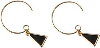Skyeye Pendientes geom/étricos Pendientes Triangulares Pendientes Pendientes hipoalerg/énicos Temperamento Joker Pendientes de Mujer