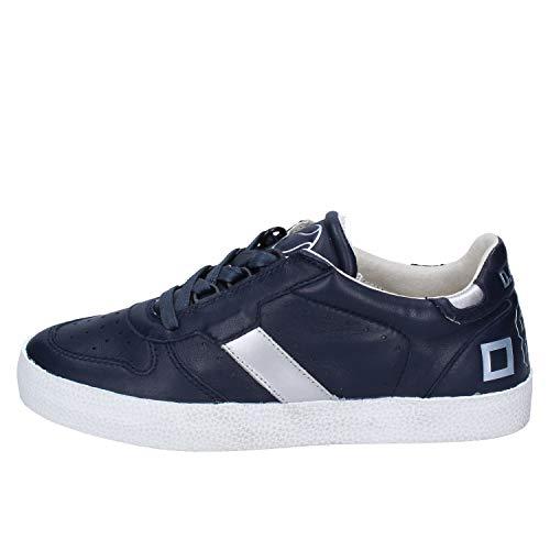 D.a.t.e.. (Date Sneakers Damen Leder blau 37 EU