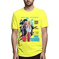 Summer Custom Made Cartoon Short Sleeve T-Shirt Yellow 3xl