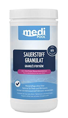 Medipool Schwimmbadpflege Sauerstoff Granulat, 1 kg