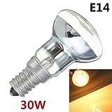 6PC Edison-Lampen-Birne 30W E14 Licht Halter R39 Reflektor-Punkt-Glühlampe Lava-Lampen-Glühlampen Weinlese-Dekor-Lampen-Ausgangsdekoration