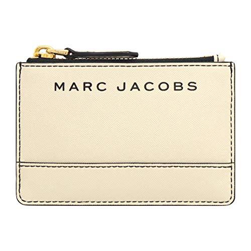 [マークジェイコブス] Marc Jacobs 財布(コインケース) M0015056 マシュマロ ブランデッド サフィアーノ レザー トップ ジップ マルチ ウォレット レディース [アウトレット品] [ブランド] [並行輸入品]
