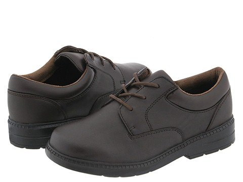 Stride Rite Windsor (Youth) (Brown Leather) Boys Shoes