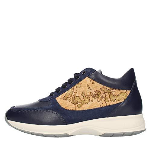 scarpe uomo alviero martini Alviero Martini Prima Classe Z9778417F Sneakers Alte Uomo Blu 45
