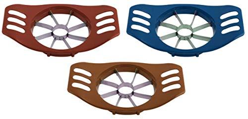 Large Apple Cutter Corer - Pack of 3 - Commercial Apple Slicer - Progressive Apple Peeler