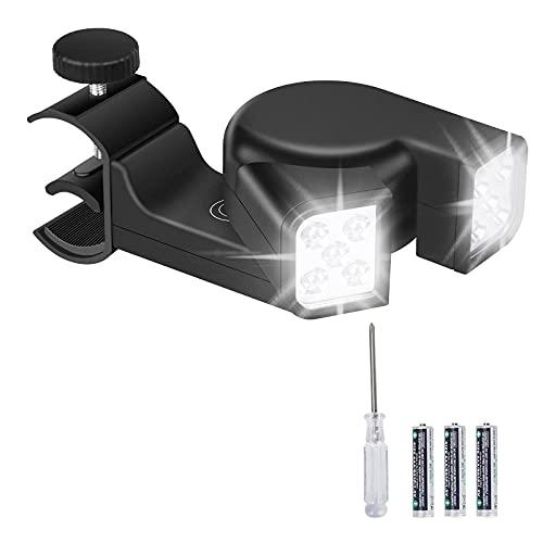 Guiseapue Gasgrill Zubehör, LED Grill Licht 180°-Drehung für Einfache Beleuchtung, BBQ Grill Zubehör für Männer mit Touch Schalter, Outdoor Grill Lichter