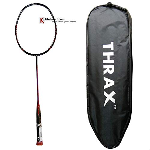 Thrax Furious XM 10 72Gms Weight 30 LBs Tension Badminton Racket...